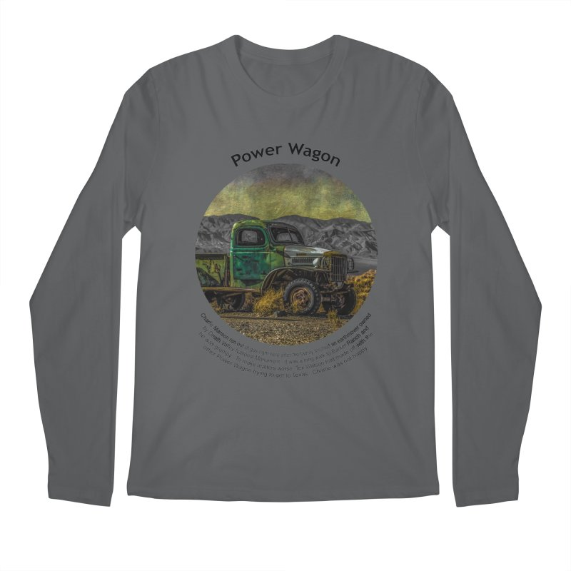 Power Wagon Men's Longsleeve T-Shirt by Hogwash's Artist Shop