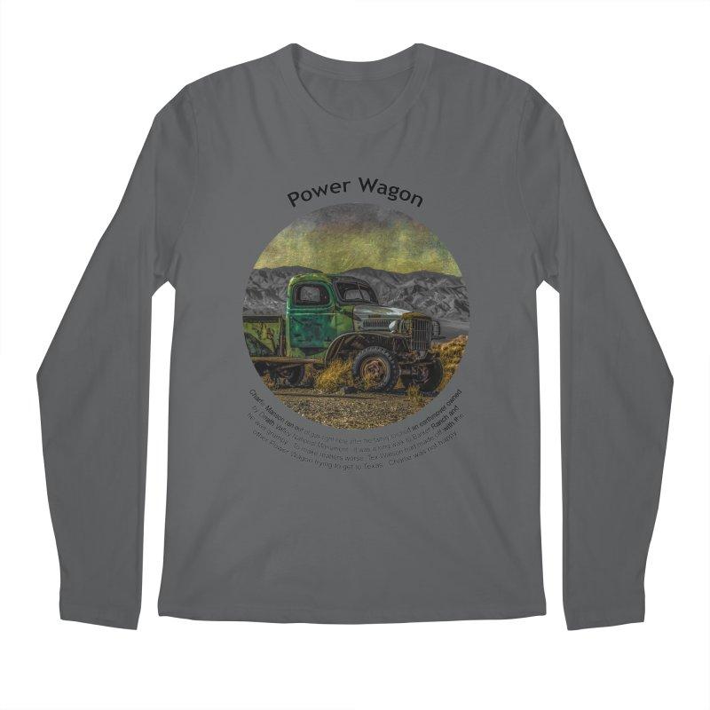 Power Wagon Men's Regular Longsleeve T-Shirt by Hogwash's Artist Shop