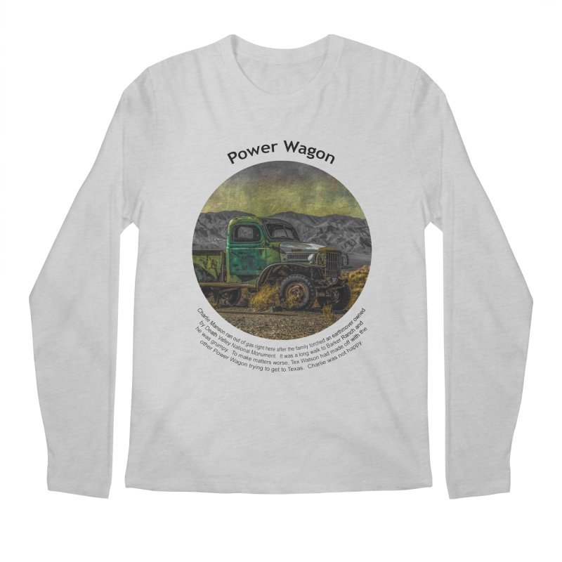 Power Wagon Men's Regular Longsleeve T-Shirt by Hogwash's Artist Shop