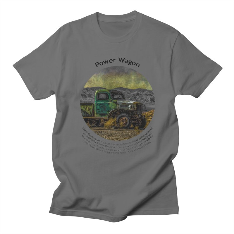 Power Wagon Men's T-Shirt by Hogwash's Artist Shop