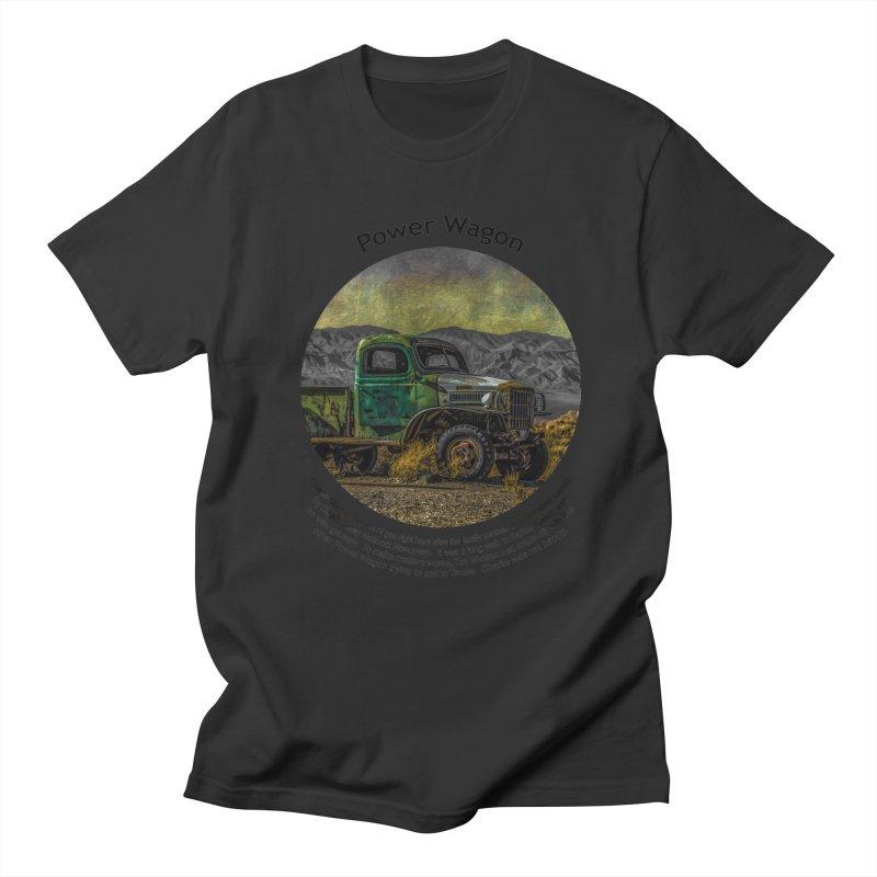 Power Wagon Men's Regular T-Shirt by Hogwash's Artist Shop