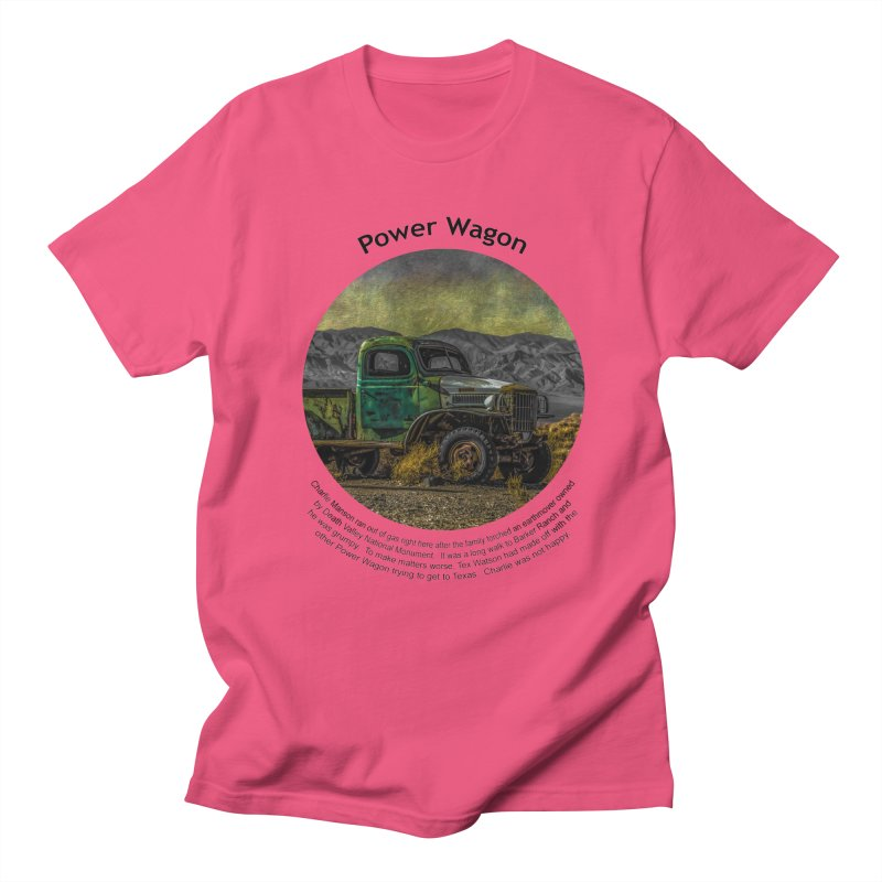 Power Wagon Men's Regular T-Shirt by Hogwash's Artist Shop
