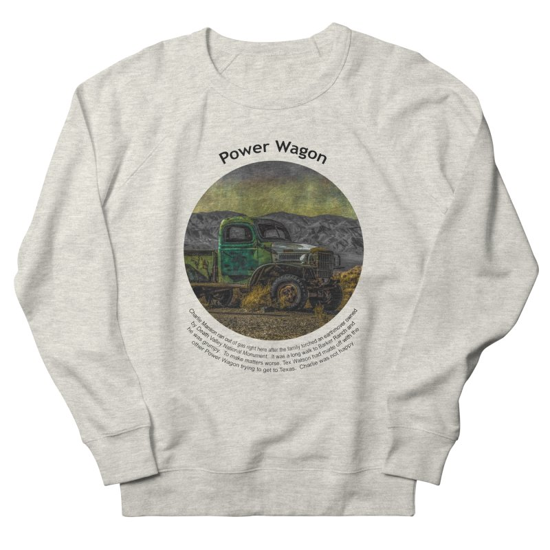 Power Wagon Women's Sweatshirt by Hogwash's Artist Shop