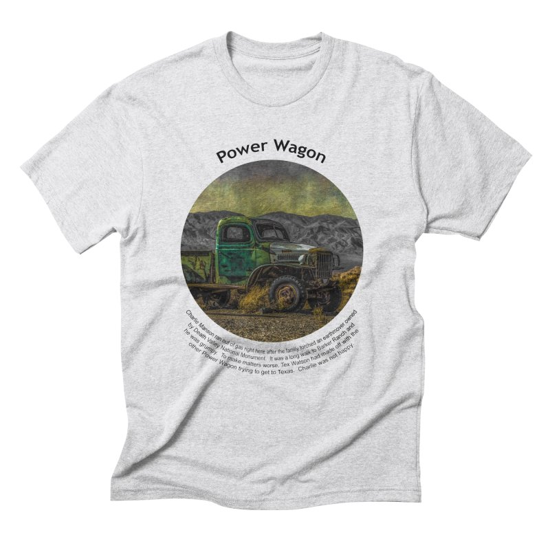 Power Wagon Men's Triblend T-shirt by Hogwash's Artist Shop