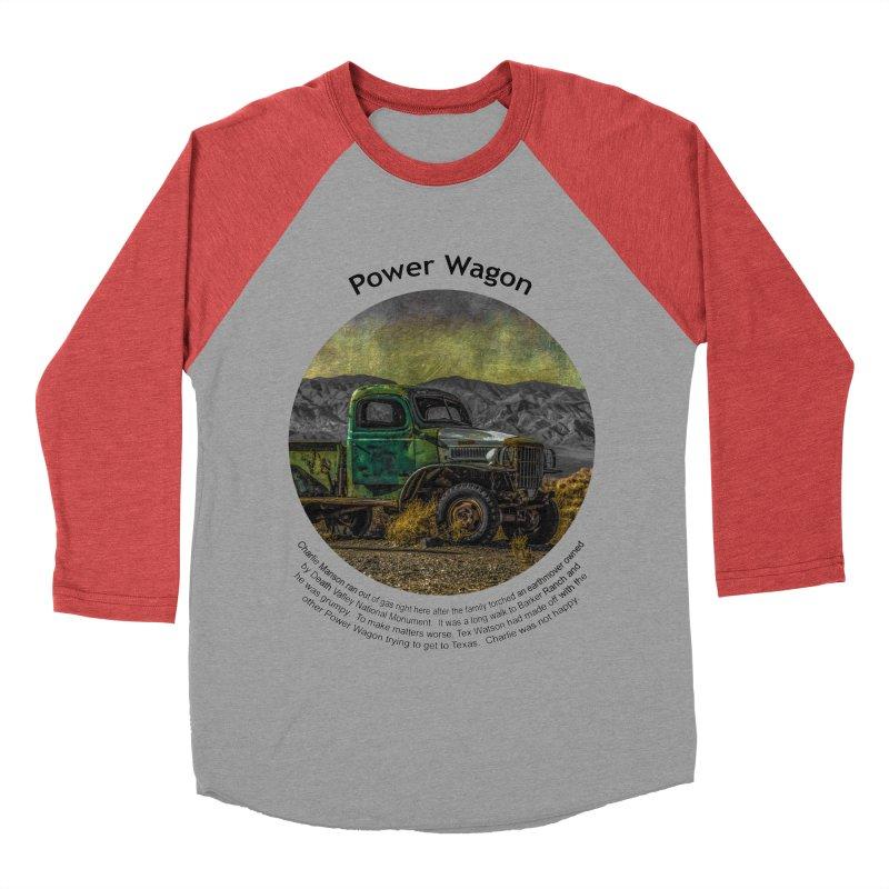 Power Wagon Women's Baseball Triblend T-Shirt by Hogwash's Artist Shop