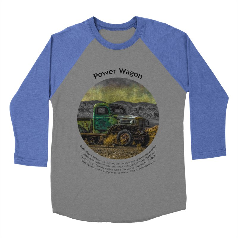 Power Wagon Men's Baseball Triblend Longsleeve T-Shirt by Hogwash's Artist Shop