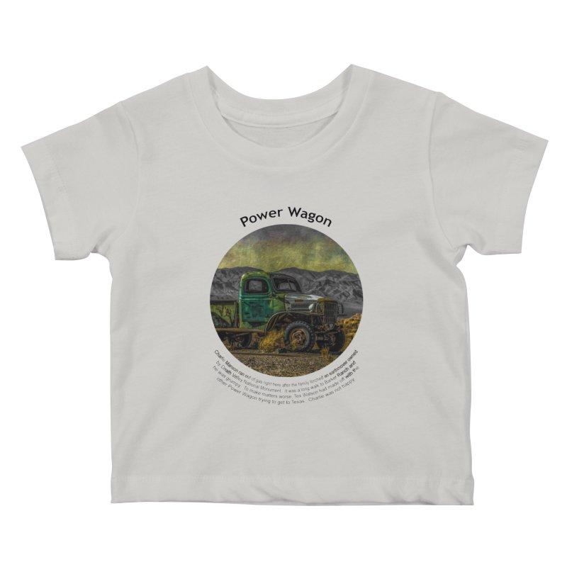 Power Wagon Kids Baby T-Shirt by Hogwash's Artist Shop