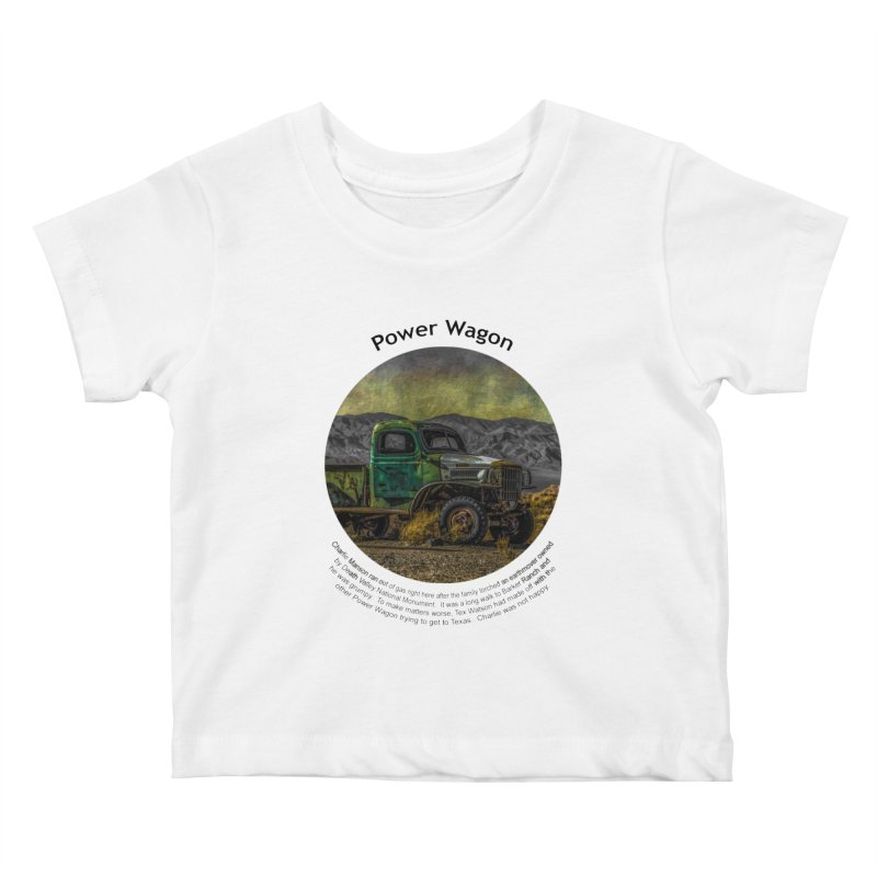 Power Wagon Kids Baby T-Shirt by Hogwash's Artist Shop