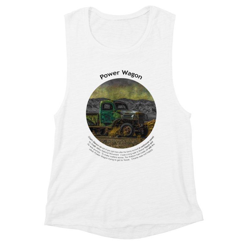 Power Wagon Women's Tank by Hogwash's Artist Shop
