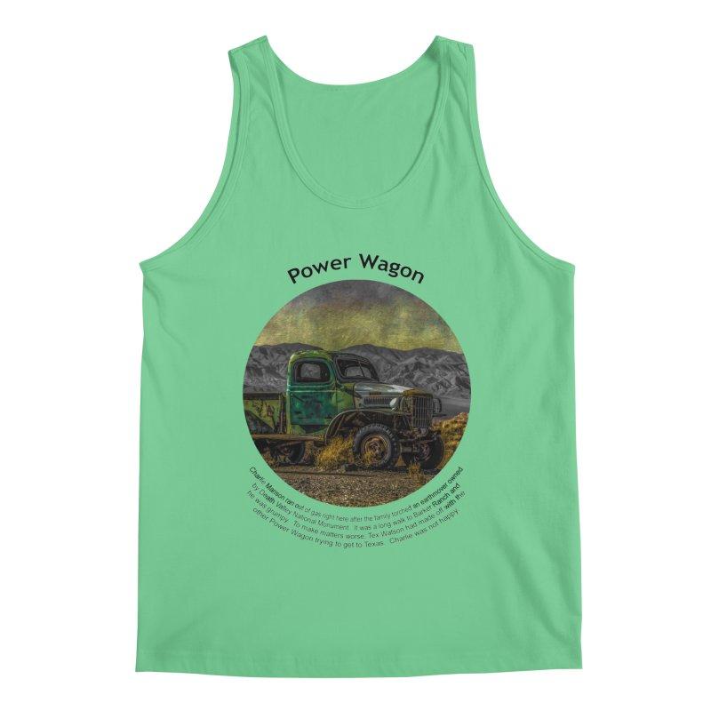 Power Wagon Men's Tank by Hogwash's Artist Shop