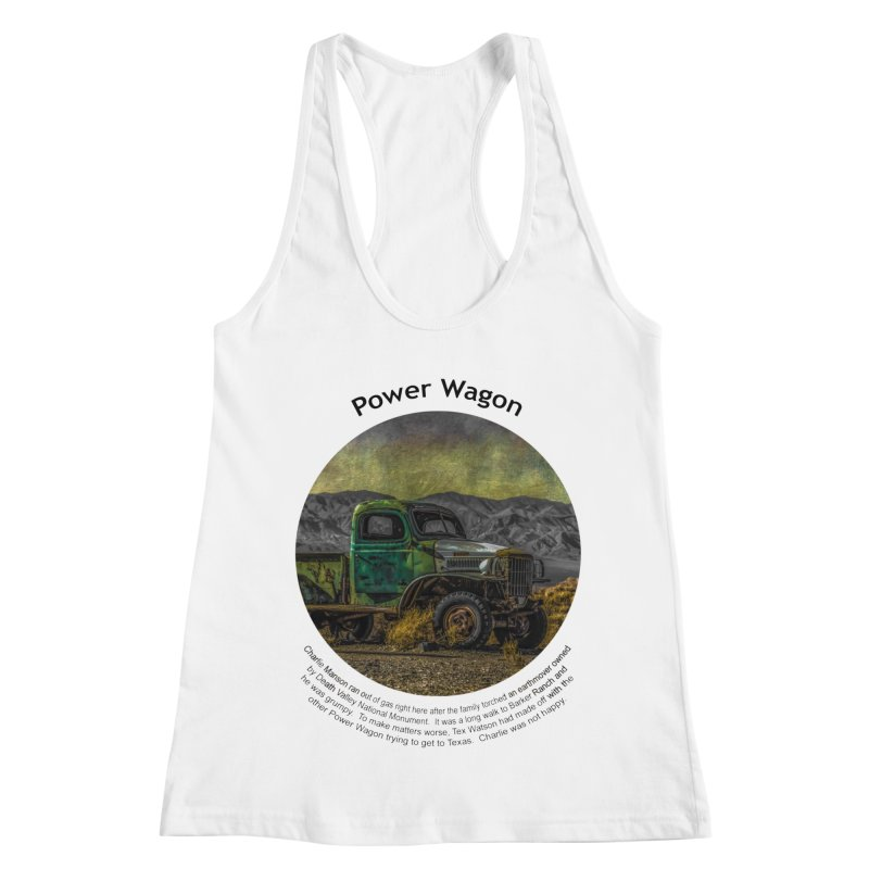 Power Wagon Women's Racerback Tank by Hogwash's Artist Shop
