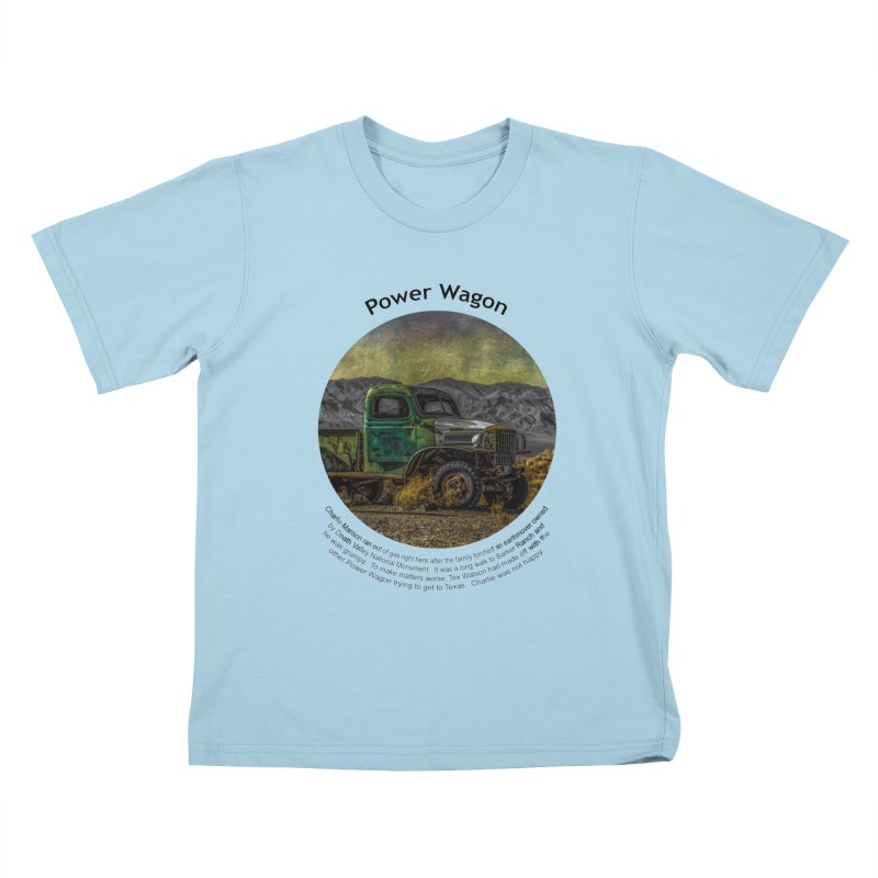 Power Wagon Kids T-shirt by Hogwash's Artist Shop
