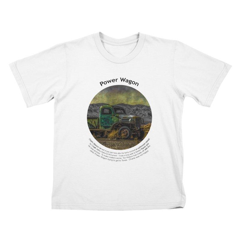 Power Wagon Kids T-Shirt by Hogwash's Artist Shop