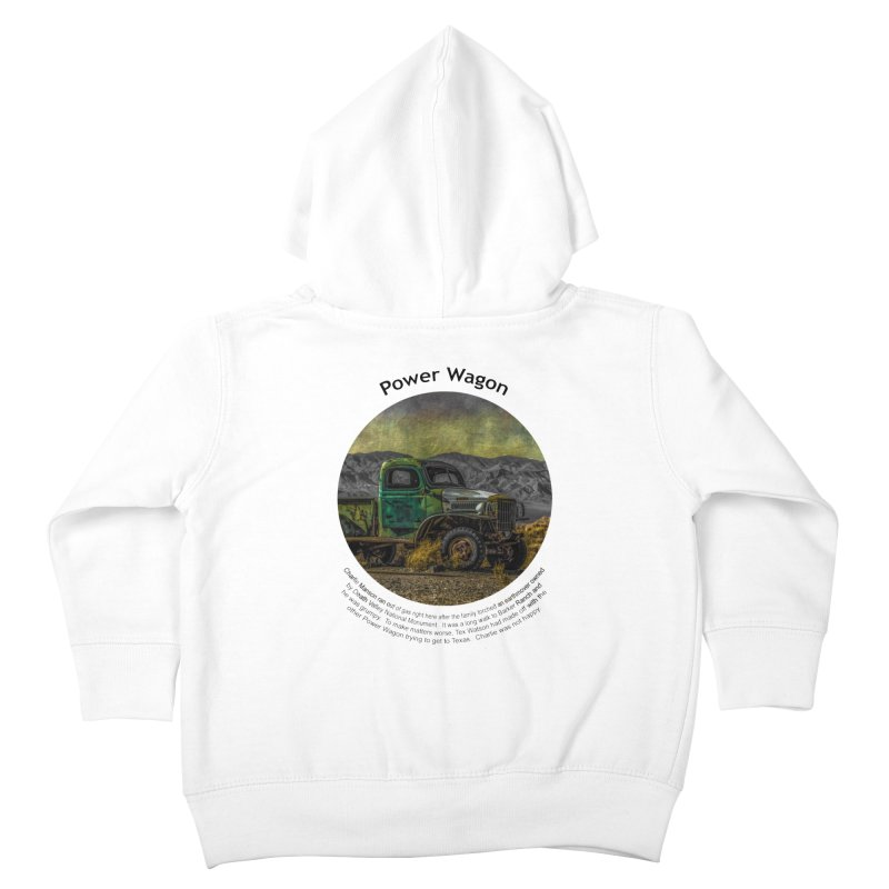 Power Wagon Kids Toddler Zip-Up Hoody by Hogwash's Artist Shop