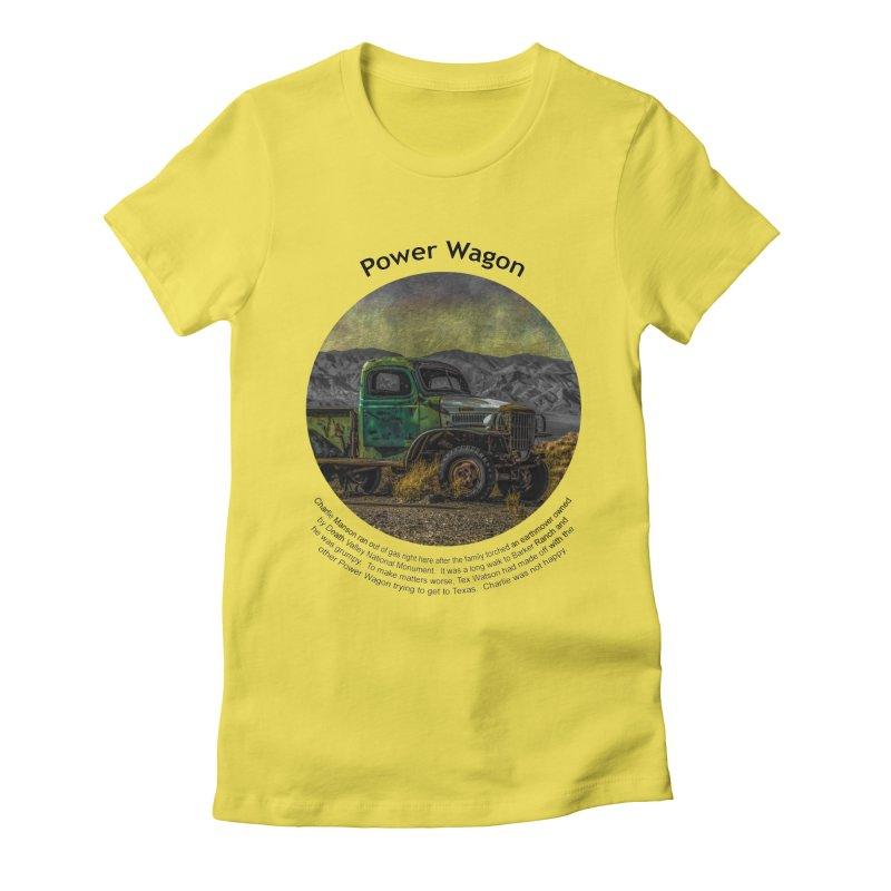 Power Wagon Women's T-Shirt by Hogwash's Artist Shop