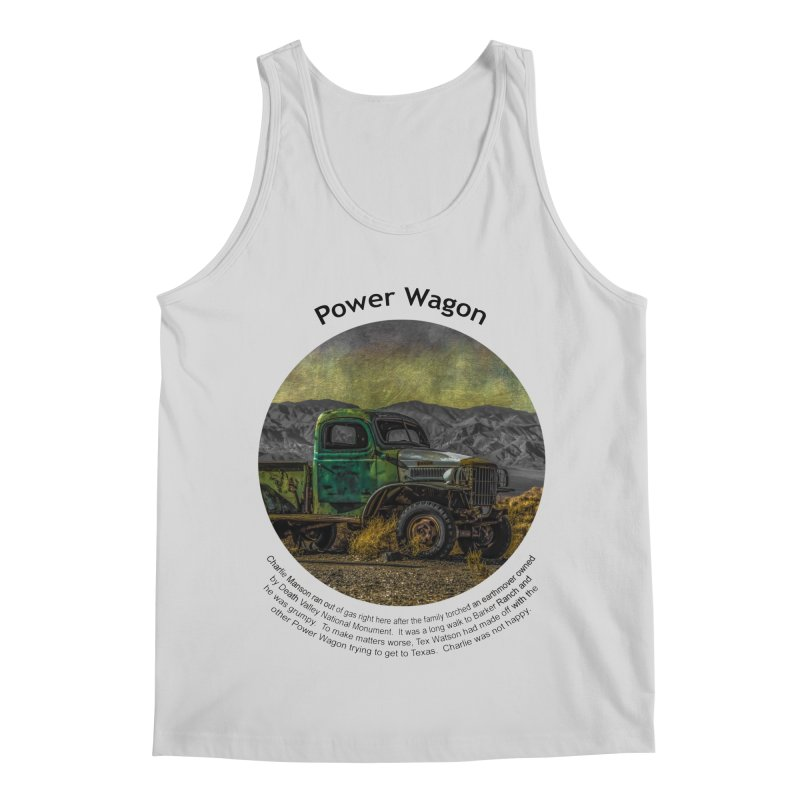 Power Wagon Men's Regular Tank by Hogwash's Artist Shop