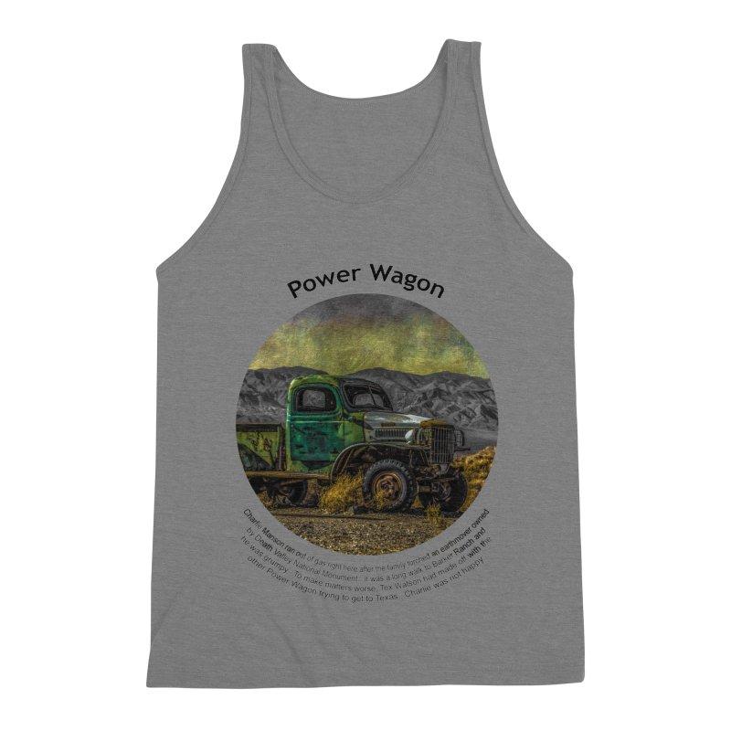 Power Wagon Men's Triblend Tank by Hogwash's Artist Shop
