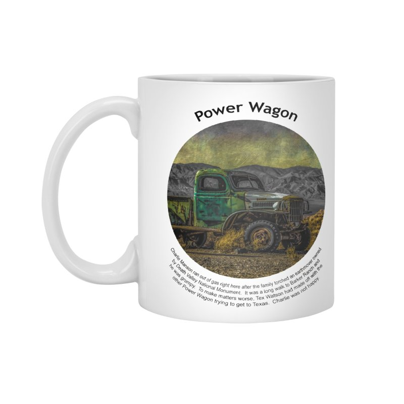 Power Wagon Accessories Standard Mug by Hogwash's Artist Shop