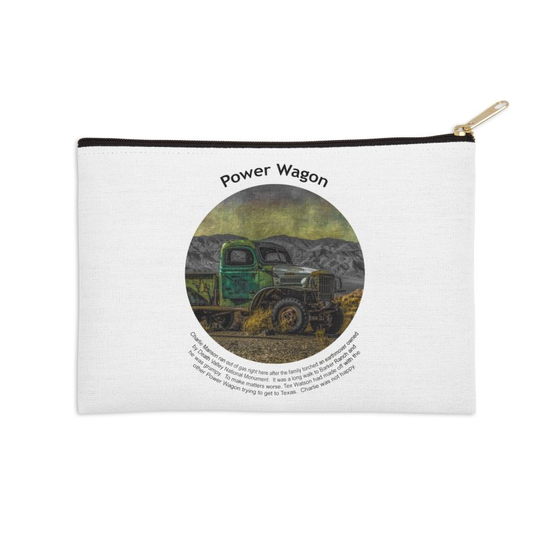 Power Wagon Accessories Zip Pouch by Hogwash's Artist Shop