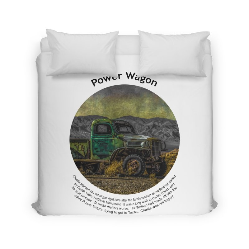 Power Wagon Home Duvet by Hogwash's Artist Shop