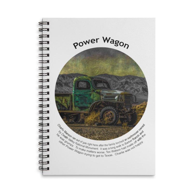 Power Wagon Accessories Lined Spiral Notebook by Hogwash's Artist Shop