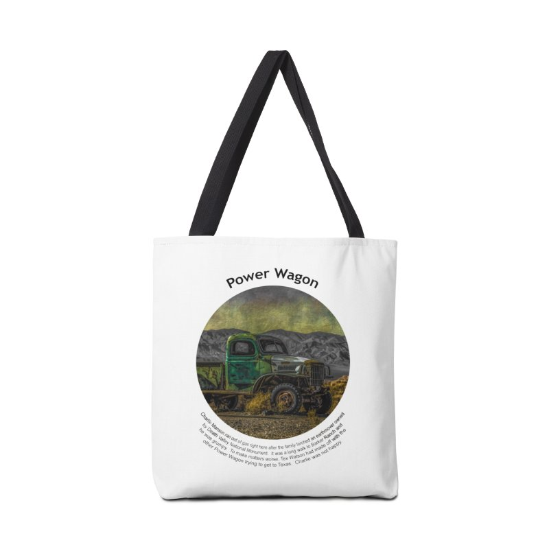 Power Wagon Accessories Tote Bag Bag by Hogwash's Artist Shop