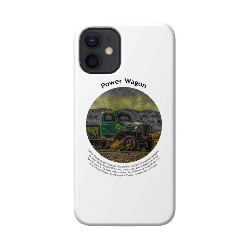 Power Wagon Accessories Phone Case by Hogwash's Artist Shop