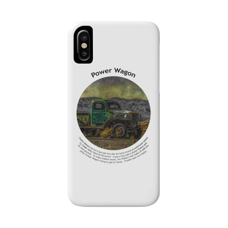 Power Wagon Accessories Phone Case by Hogwash's Artist Shop