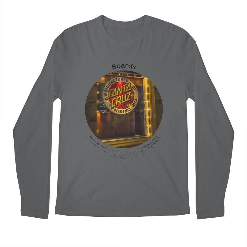 Boards Men's Longsleeve T-Shirt by Hogwash's Artist Shop