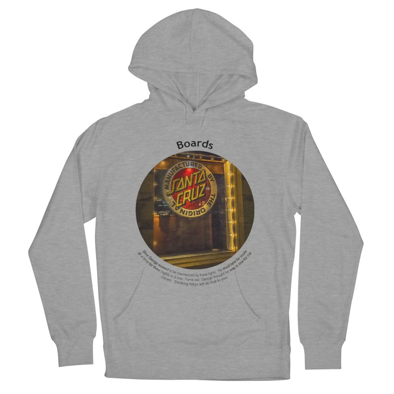 Boards Men's Pullover Hoody by Hogwash's Artist Shop