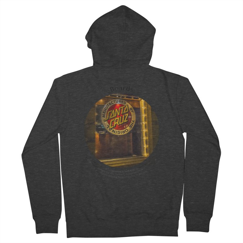 Boards Men's Zip-Up Hoody by Hogwash's Artist Shop
