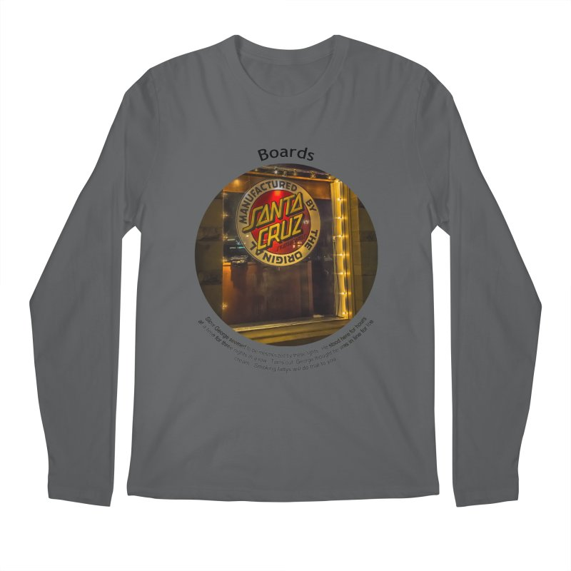 Boards Men's Regular Longsleeve T-Shirt by Hogwash's Artist Shop