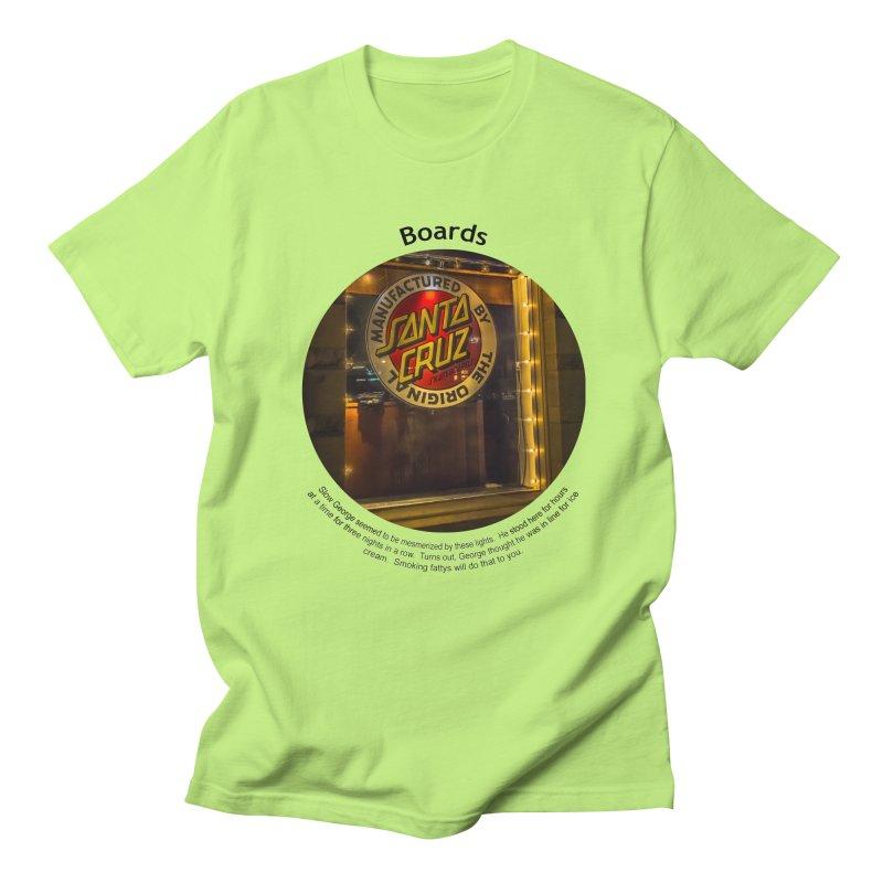 Boards Men's Regular T-Shirt by Hogwash's Artist Shop