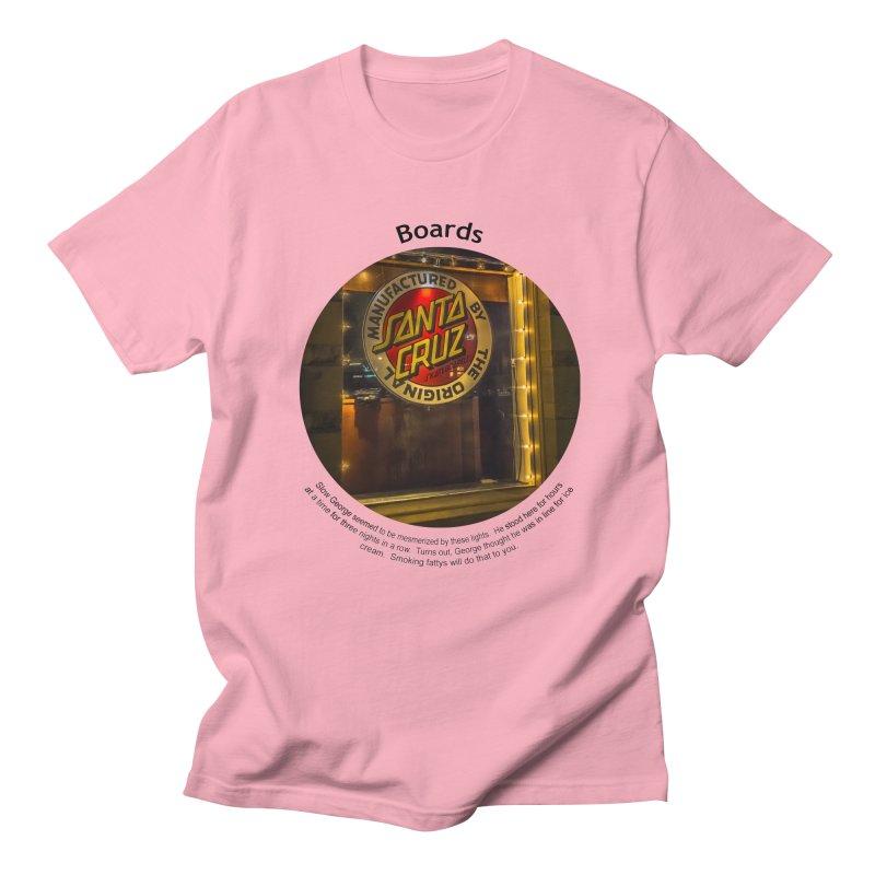 Boards Men's T-Shirt by Hogwash's Artist Shop