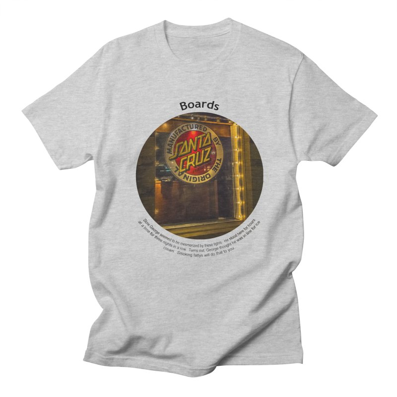 Boards Men's Regular T-Shirt by Hogwash's Artist Shop