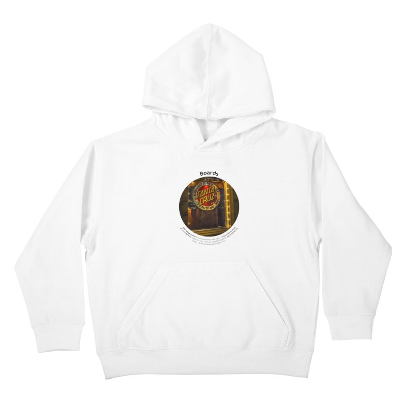 Boards Kids Pullover Hoody by Hogwash's Artist Shop