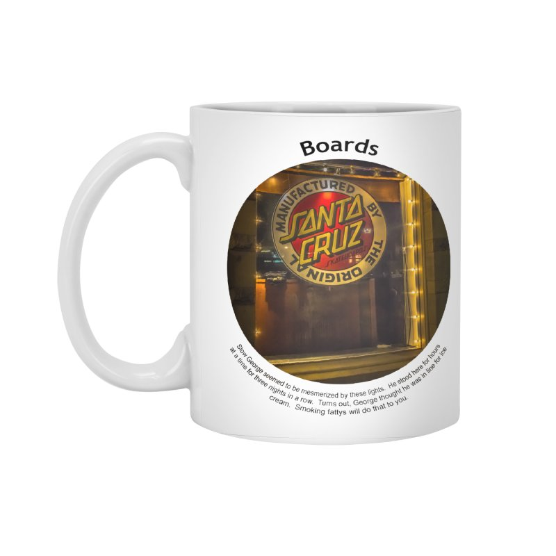 Boards Accessories Mug by Hogwash's Artist Shop