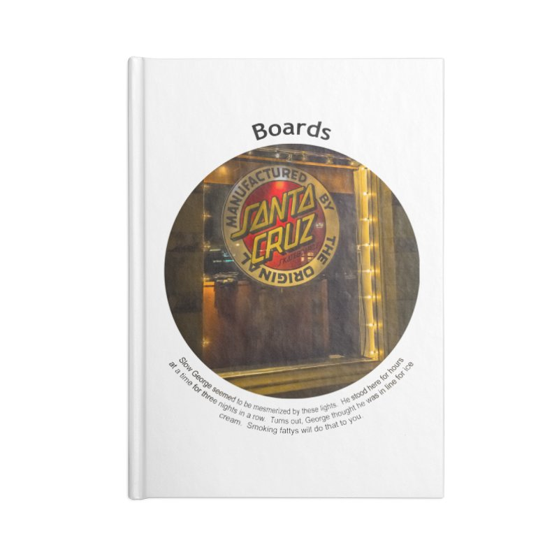 Boards Accessories Notebook by Hogwash's Artist Shop