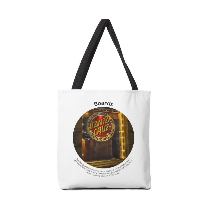 Boards Accessories Tote Bag Bag by Hogwash's Artist Shop
