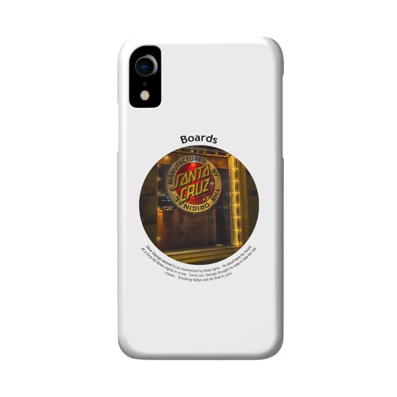 Boards Accessories Phone Case by Hogwash's Artist Shop