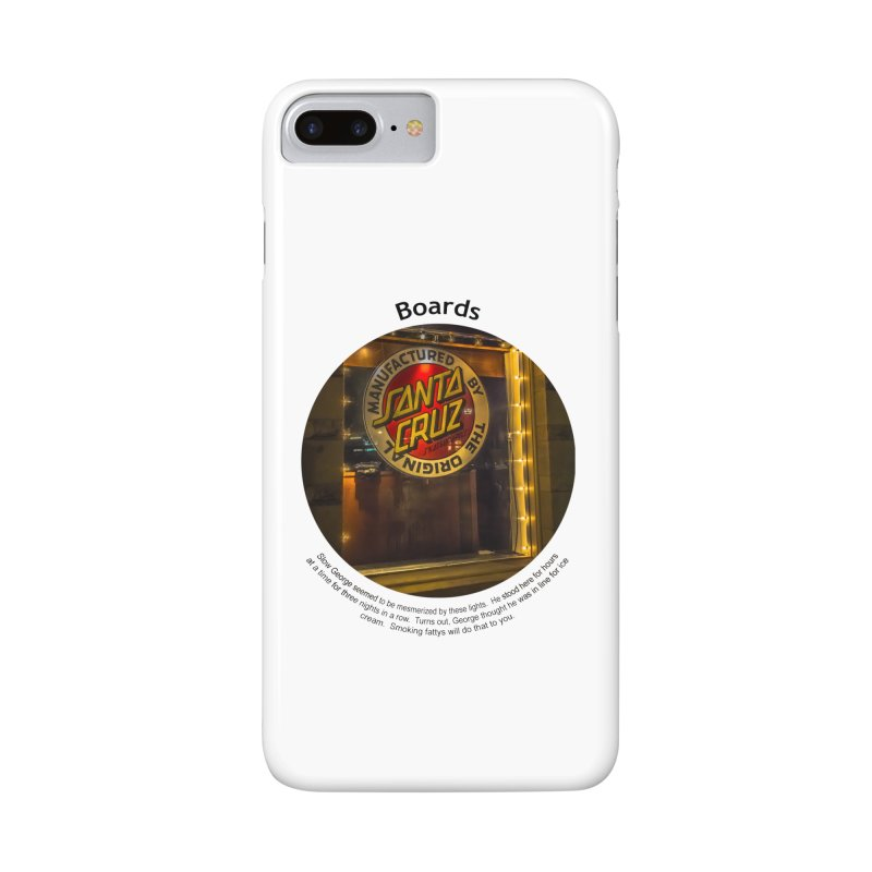 Boards Accessories Phone Case by Hogwash's Artist Shop