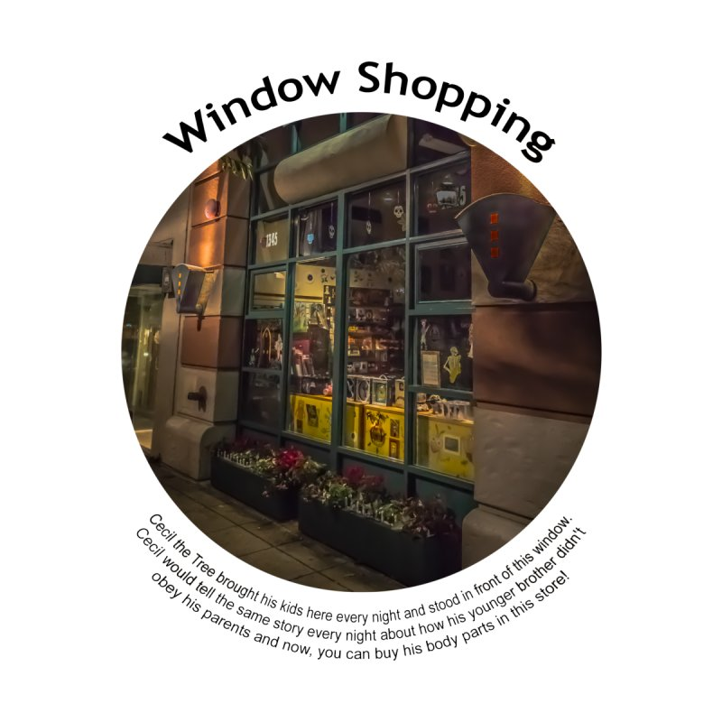 Window Shopping by Hogwash's Artist Shop