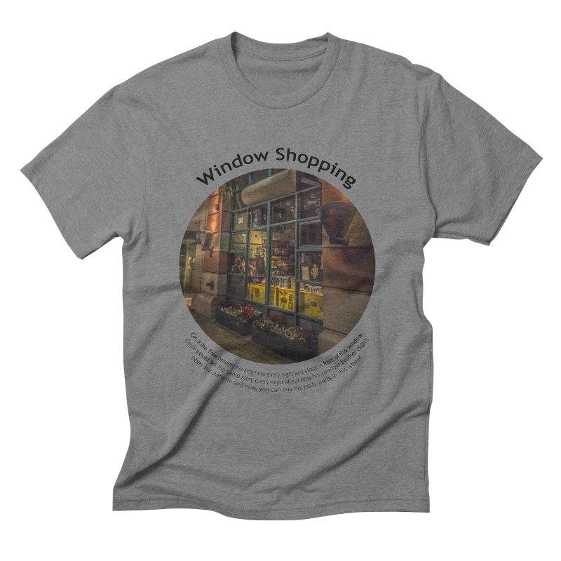 Window Shopping Men's T-Shirt by Hogwash's Artist Shop