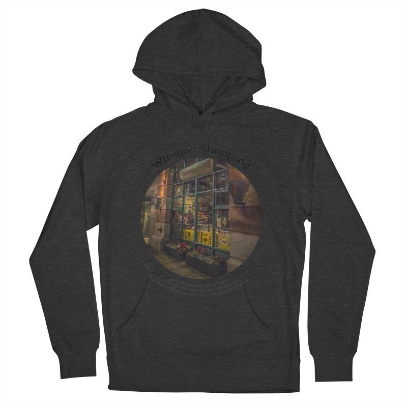 Window Shopping Men's Pullover Hoody by Hogwash's Artist Shop