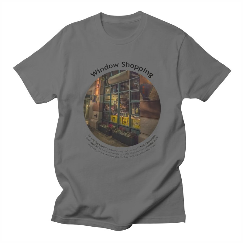 Window Shopping Men's T-Shirt by Hogwash's Artist Shop
