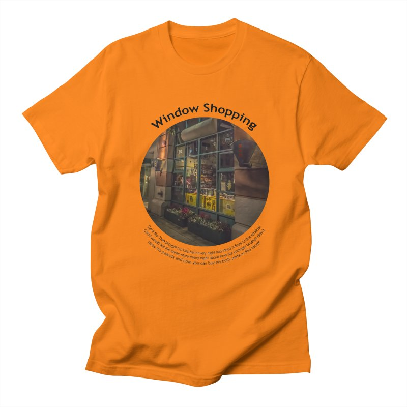 Window Shopping Men's Regular T-Shirt by Hogwash's Artist Shop