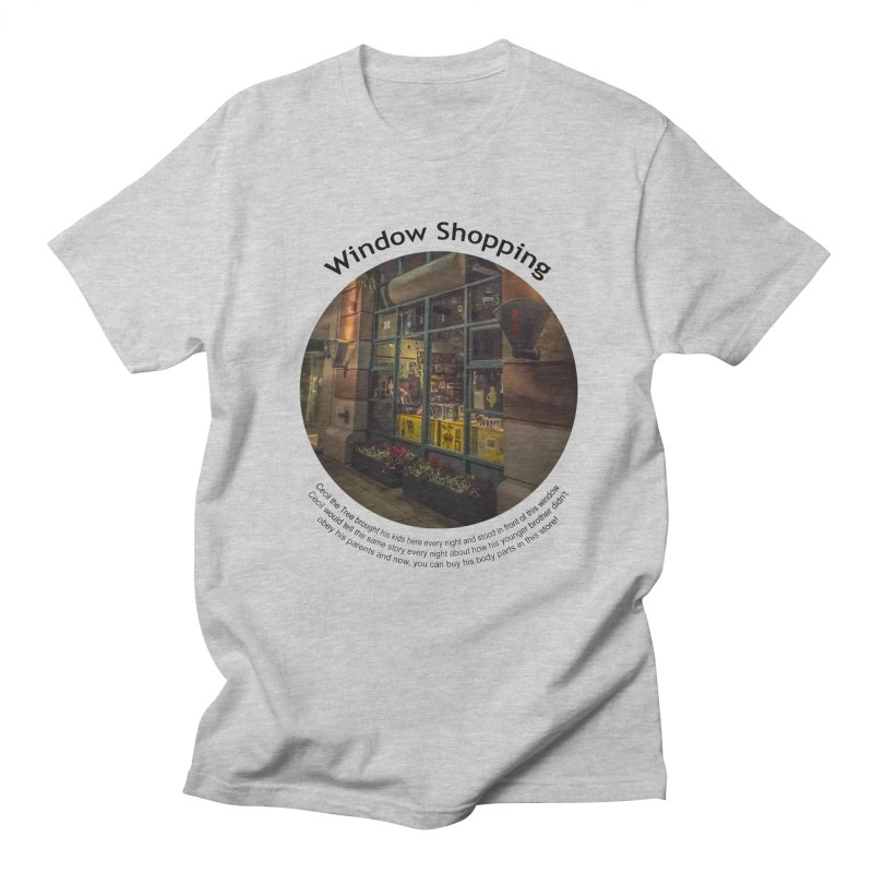 Window Shopping Men's Regular T-Shirt by Hogwash's Artist Shop