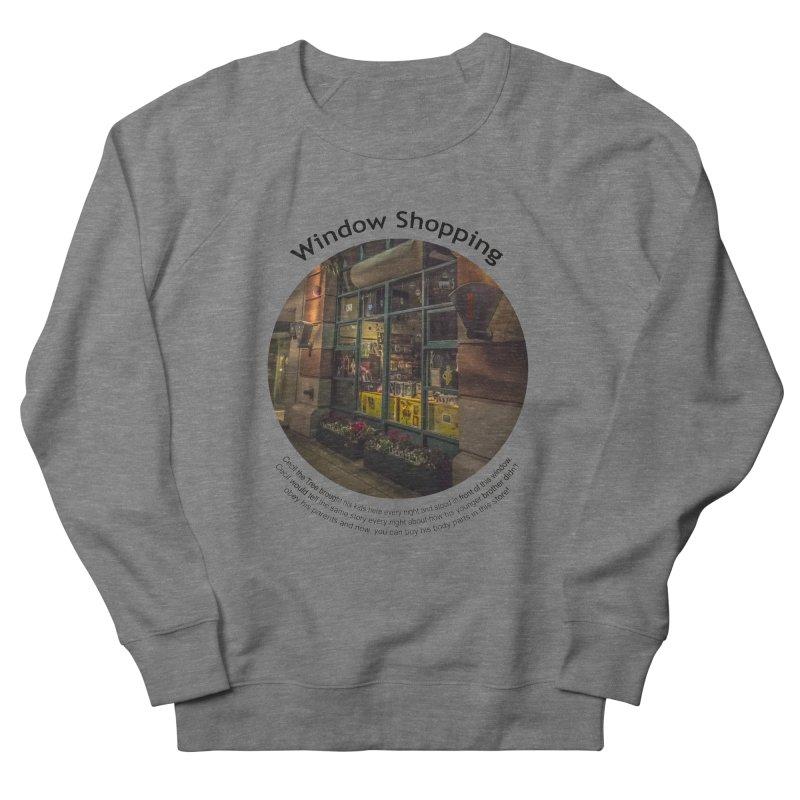 Window Shopping Women's Sweatshirt by Hogwash's Artist Shop