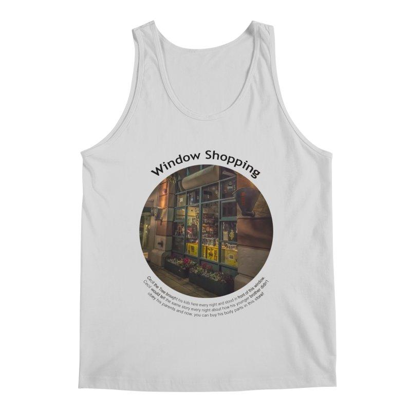 Window Shopping Men's Regular Tank by Hogwash's Artist Shop