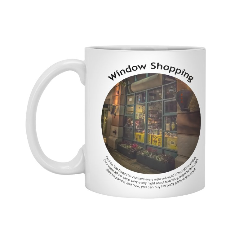 Window Shopping Accessories Standard Mug by Hogwash's Artist Shop
